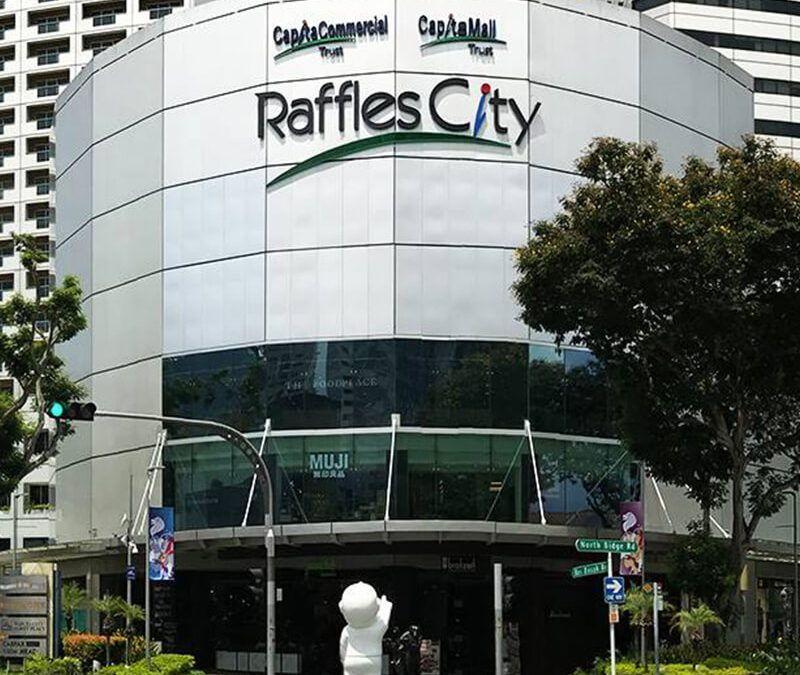 New Public Charger at Raffles City Singapore
