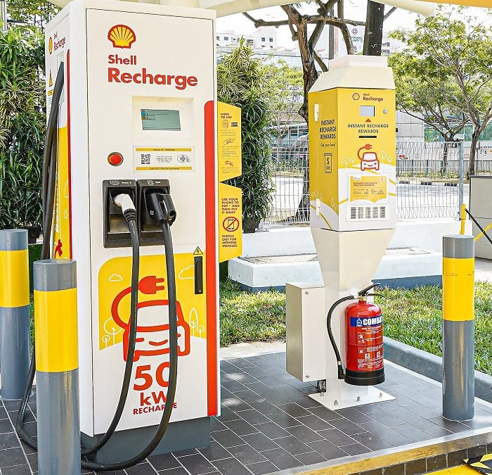 Launch of Shell Recharge Sengkang